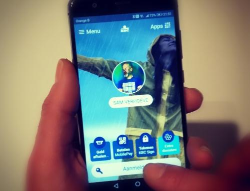 KBC app vereenvoudigen